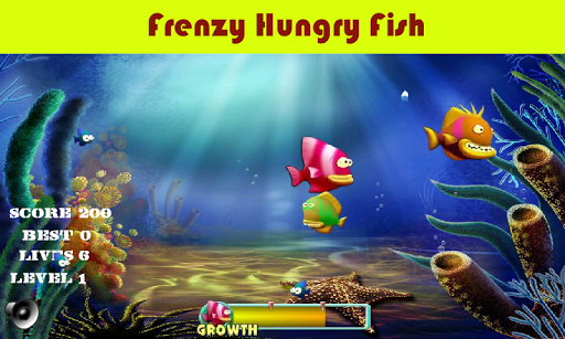 Frenzy Hungry Fish