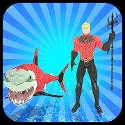 Multi Aqua Shark Hero Vs Sea Animals