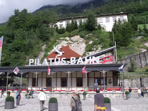 Photo: The train station to for the funicular.