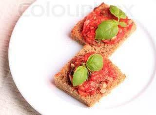 Rye Bread Crostini