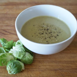 Cream of Brussels Sprouts Soup.