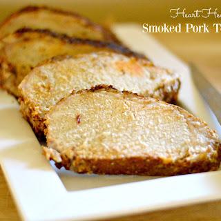 Heart-Healthy Applewood Smoked Pork Tenderloin.