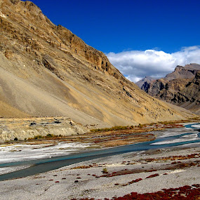 Ladakh by Saikat Datta - Landscapes Mountains & Hills