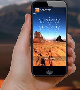 Desert AppLock - náhled
