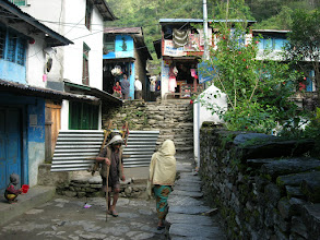 Photo: The streets of Bhulbhule