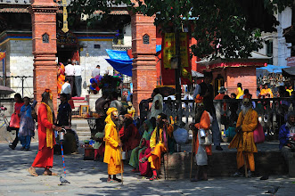 Photo: Sadhu in Durbar Square