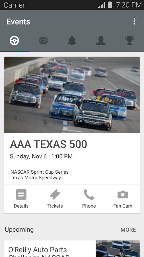 Texas Motor Speedway Android Apps On Google Play
