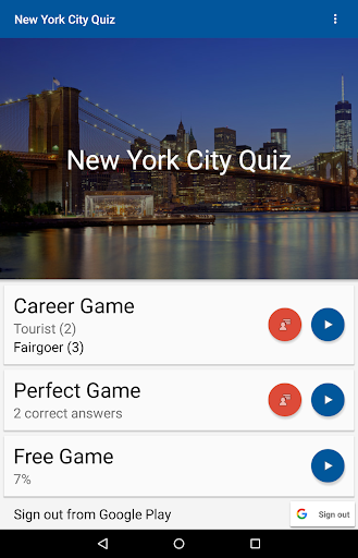 New York City Quiz