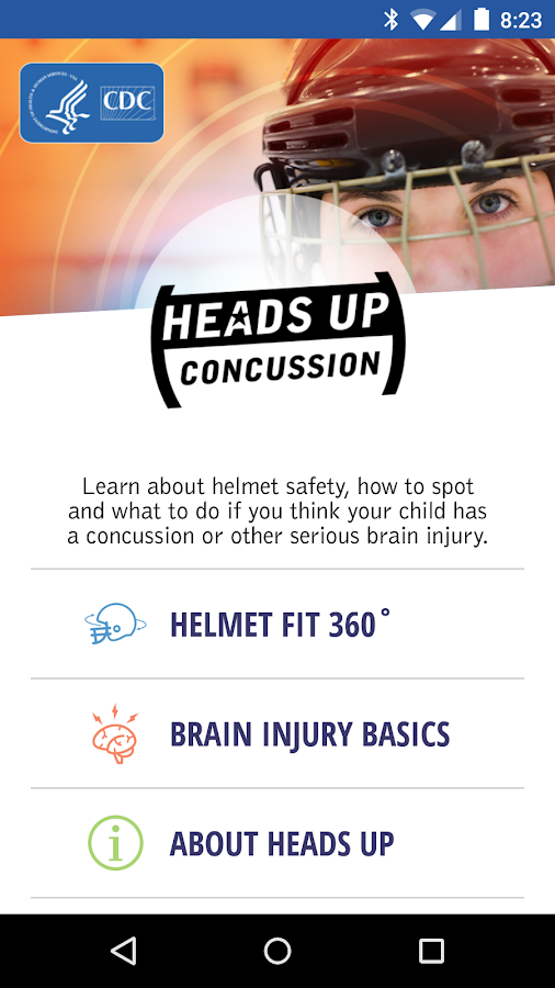 CDC HEADS UP Concussion Safety- screenshot