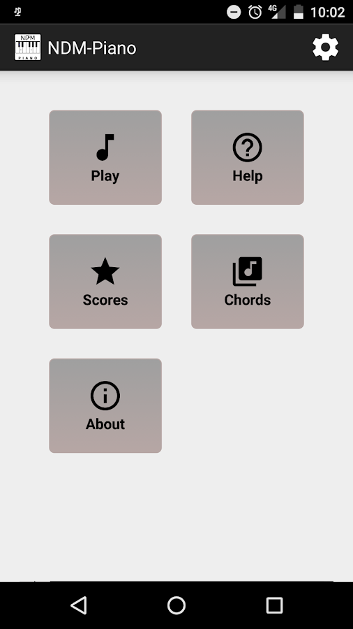 NDM - Piano (Learning to read musical notation)- screenshot