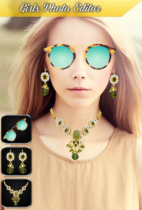Jewellery Photo Editor: Stylish Photo Maker- screenshot