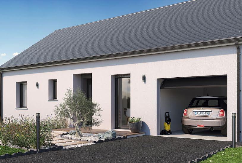 Vente Terrain + Maison - Terrain : 606m² - Maison : 69m² à Candé (49440)