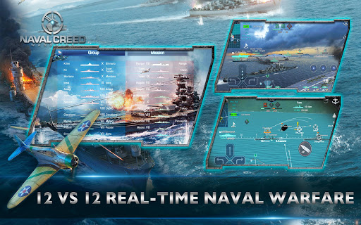 Naval Creed:Warships apkpoly screenshots 8