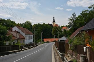 Photo: Chýnov  Na zdjęciu kościółśw. Trójcy.