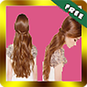 Beautiful hairstyles step by step icon
