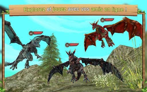 Simulateur de dragon en ligne captures d'écran apk mod pirater preuve 4