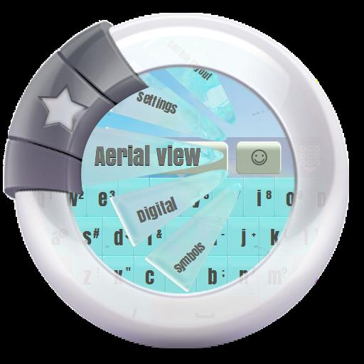 个人化の空中写真 GO Keyboard LOGO-記事Game