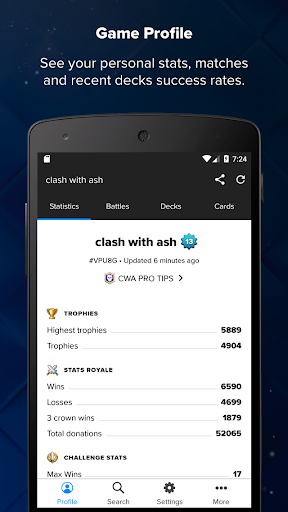 Stats Royale for Clash Royale 1.9.1 screenshots 1