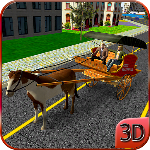 Horse Carriage City Rider
