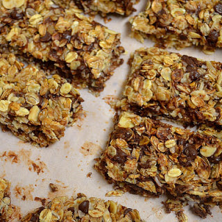 Toasted Coconut + Chocolate Chip Granola Bars.