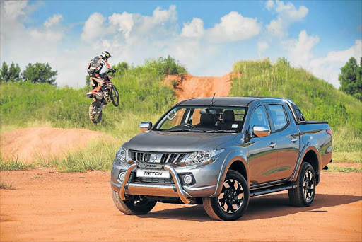 NIP AND TUCK: The new Mitsubishi Triton has arrived on local shores after a comprehensive redesign, although it retains all the features that made previous models stand out from the rest Picture: QUICKPIC