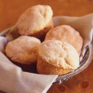 Cinnamon-Buttermilk Muffins.