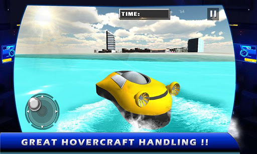 Hovercraft Flying Simulator 3D