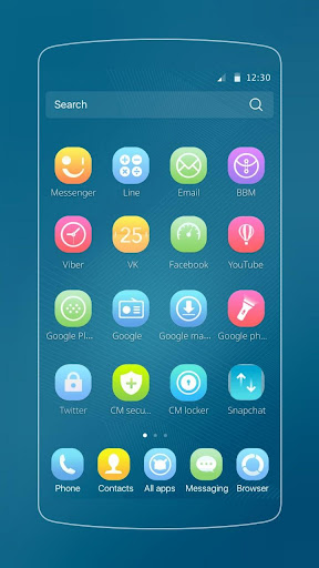 mod J7 Theme for Samsung Galaxy 1.1.7 screenshots 2