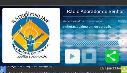Rádio Adorador do Senhor screenshot 1