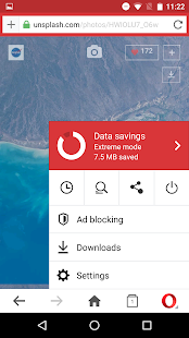 Opera Mini web browser Screenshot 5