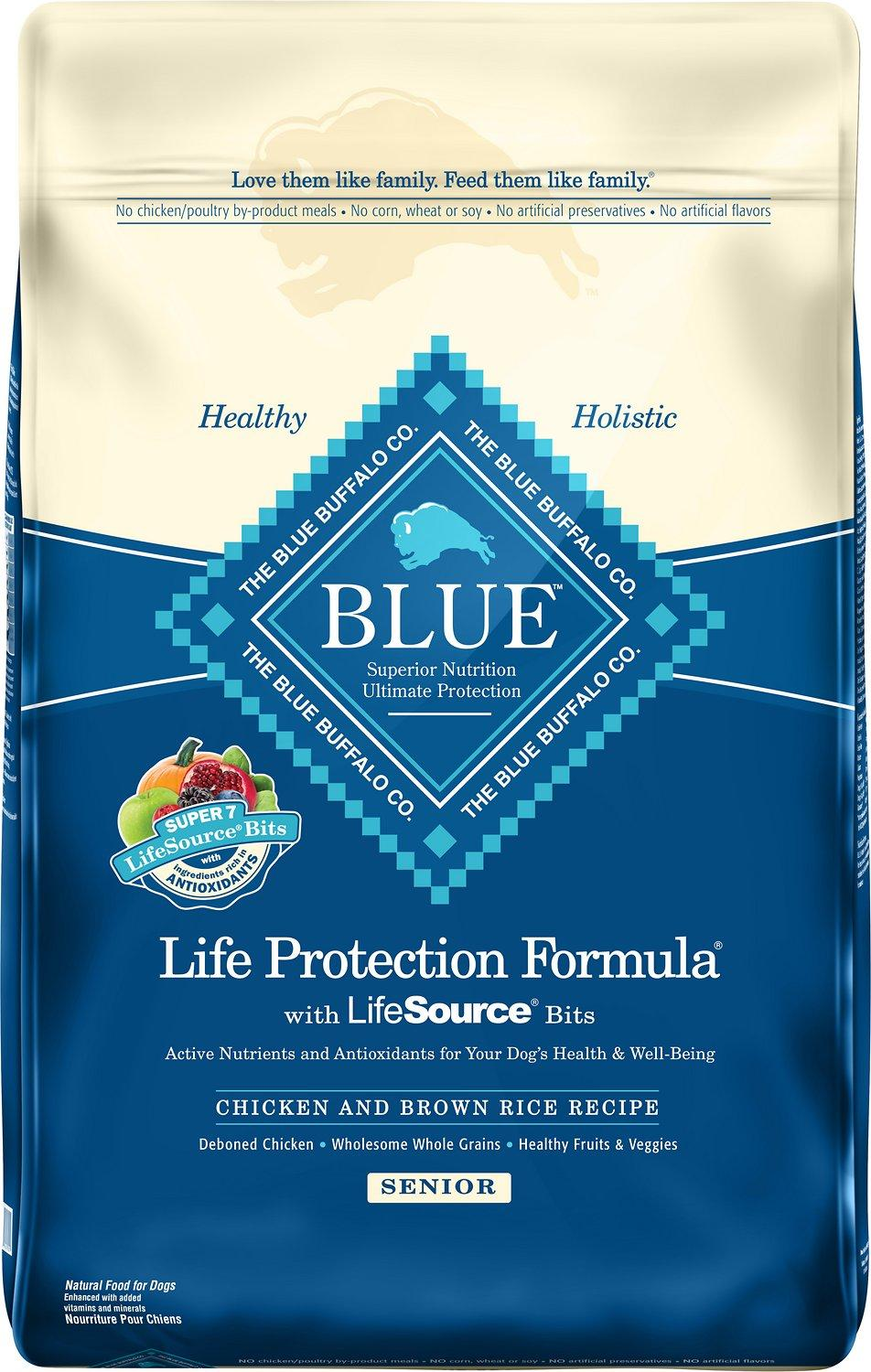 Blue Buffalo Life Protection Formula Small Breed Adult Chicken & Brown Rice Recipe