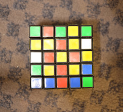 Photo: Rubic cube under normal lighting