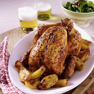 Smokey Roast Chicken and Potatoes