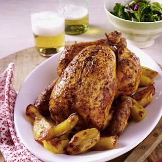 Smokey Roast Chicken and Potatoes.