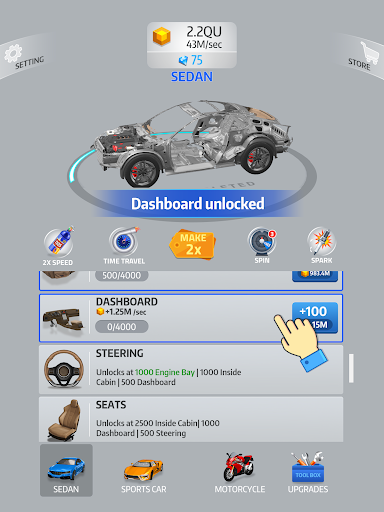 Idle Car 2.1.4 screenshots 7