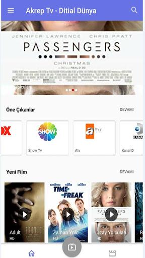 Akreptv - Bedava, Film izle, Tv İzle 6.1.9 screenshots 2