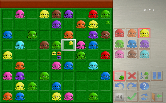 Squid Sudoku- screenshot