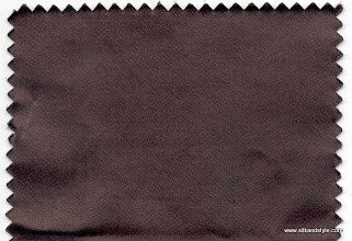 Photo: Hamilton 44 - Design Chand - Color Deep Mahogany 1049   Contents:  32% Silk + 68% Cotton