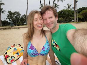 Photo: On the beach.