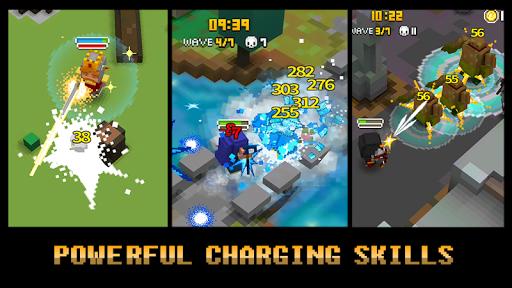 Hiệu ứng kĩ năng đặc biệt trong game Pixel Knights