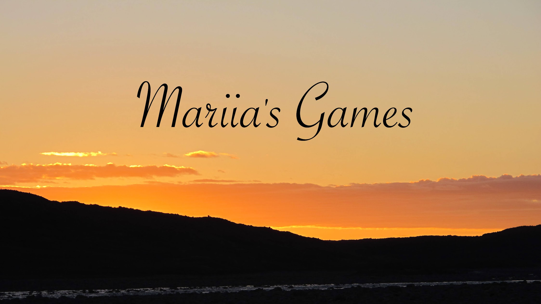 Mariias Games