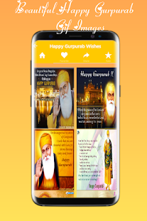 Happy Gurpurab Greetings - náhled