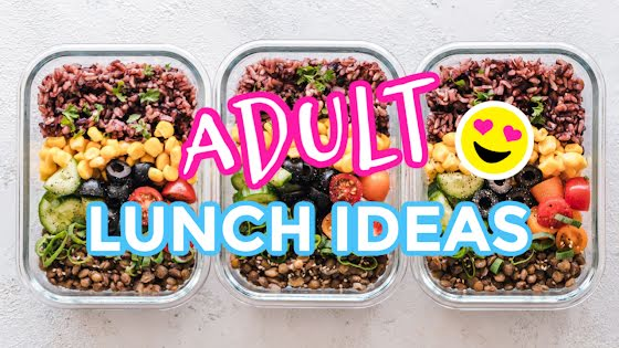 Adult Lunch Ideas - YouTube Thumbnail Template