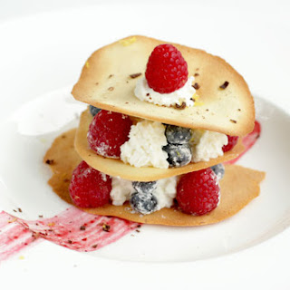 Cooking with Stephen Lee Masterchef 6 - Tuiles and Berries
