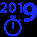 New Year 2019 Countdown, Cuenta Regresiva Contagem icon