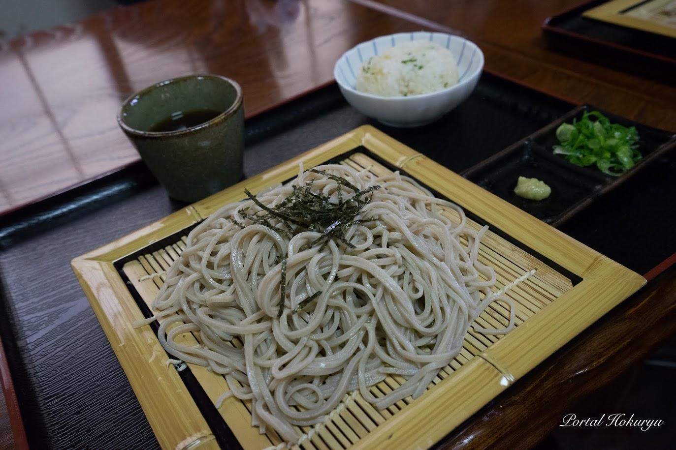 そばセット(そば+おむすび)