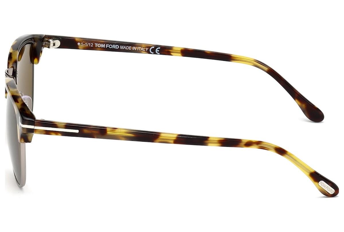 9b4cf136670 Buy Tom Ford Henry FT0248 C53 55J (coloured havana   roviex) Sunglasses