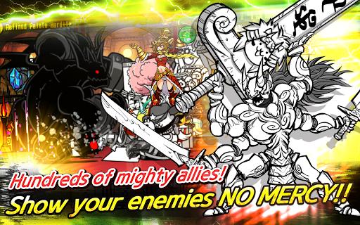 """Игра """"Battle Cats"""" для планшетов на Android"""