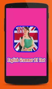 English Grammar Test B1 - náhled