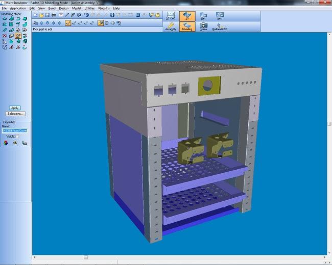 Решения CAD/CAM-комплекса RADAN для инженерно-технического проектирования Radraft (для работы с чертежами в 2D) и RADAN3D (для обработки 3D-обьектов)